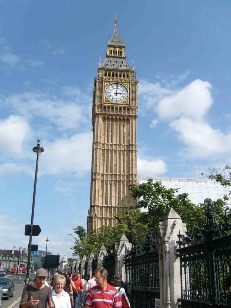 Der Big Ben in London (c) weltvermessen.de