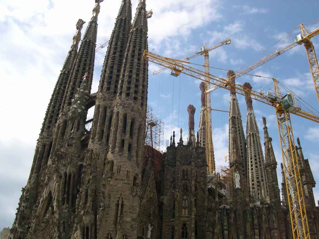 Barcelona La Sagrada Familia - weltvermessen.de