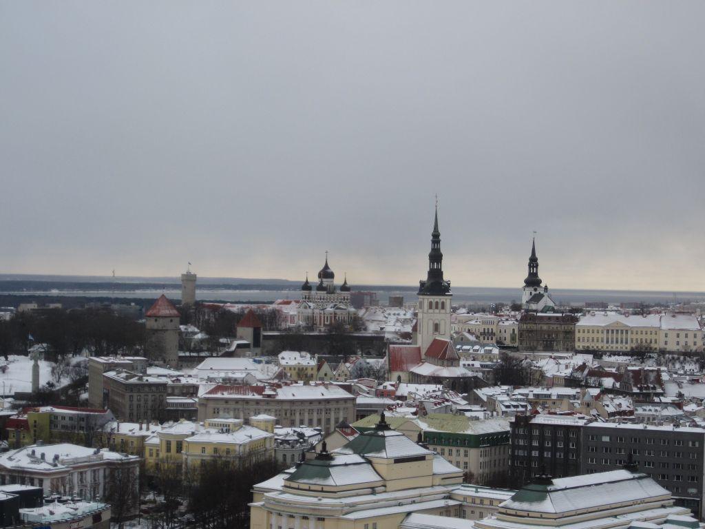 Tallinner Skyline (c) 2013 - www.weltvermessen.de
