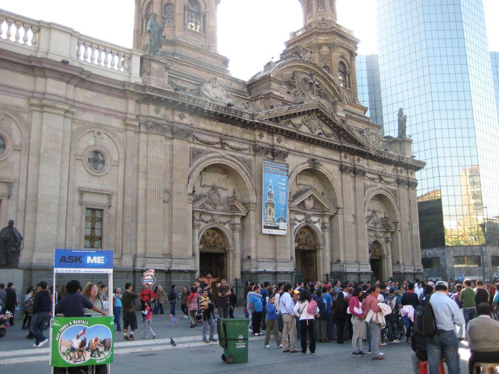 Santiago de Chile - Plaza de Armas - www.weltvermessen.de