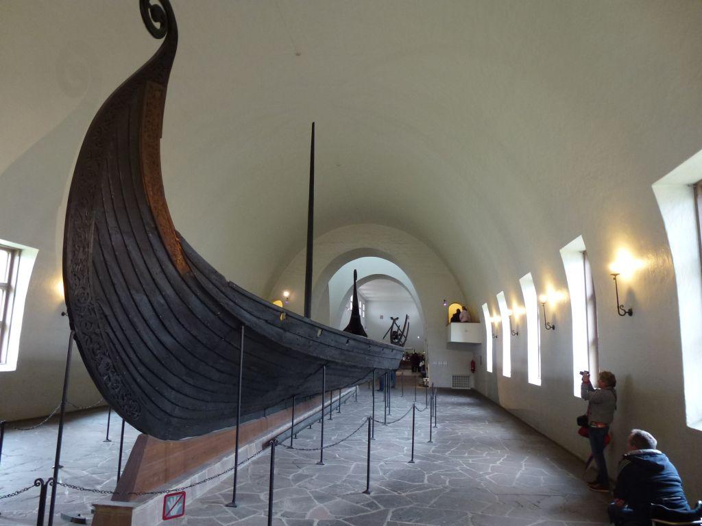 """Das Wikingerschiffmuseum """"Vikingskiphuset"""""""