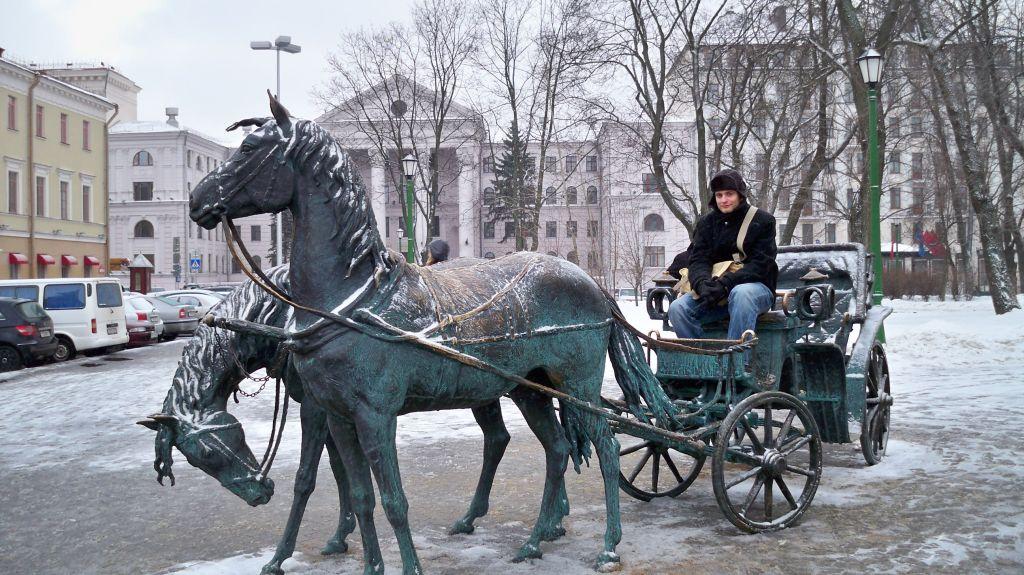 Freiheitsplatz in Minsk