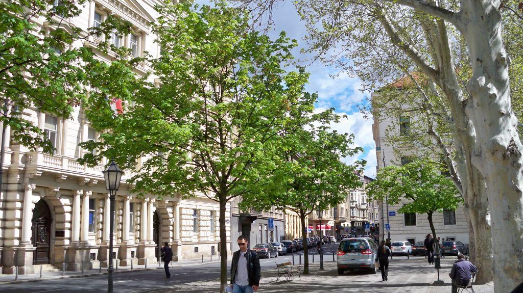 Gerichtsgebäude in Zagreb
