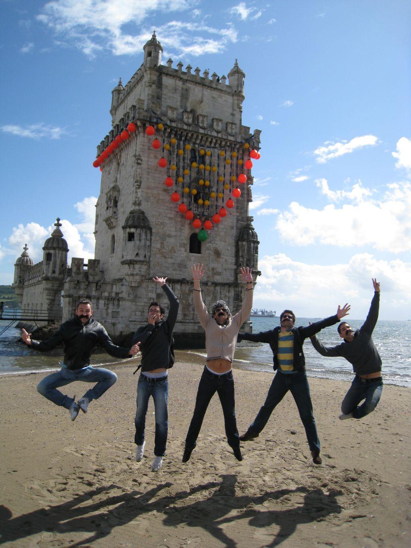Junggesellenabschied in Lissabon