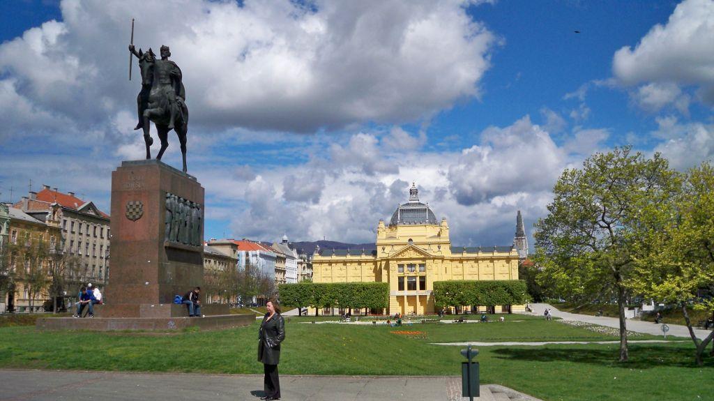 Reiterstandbild von König Tomislav