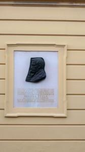 Gedenktafel für Nikola Tesla