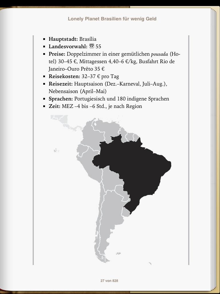 Lonely Planet Brasilien - Einstieg - weltvermessen.de