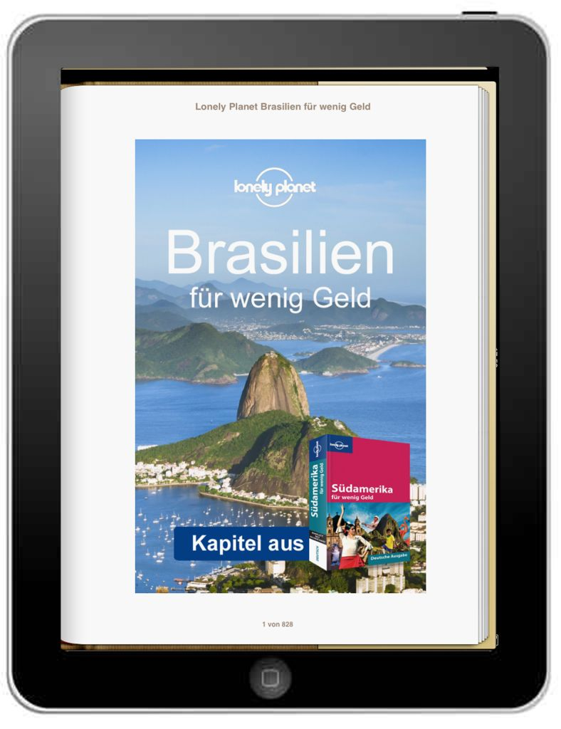 Lonely Planet Brasilien - Cover mit iPad - weltvermessen.de