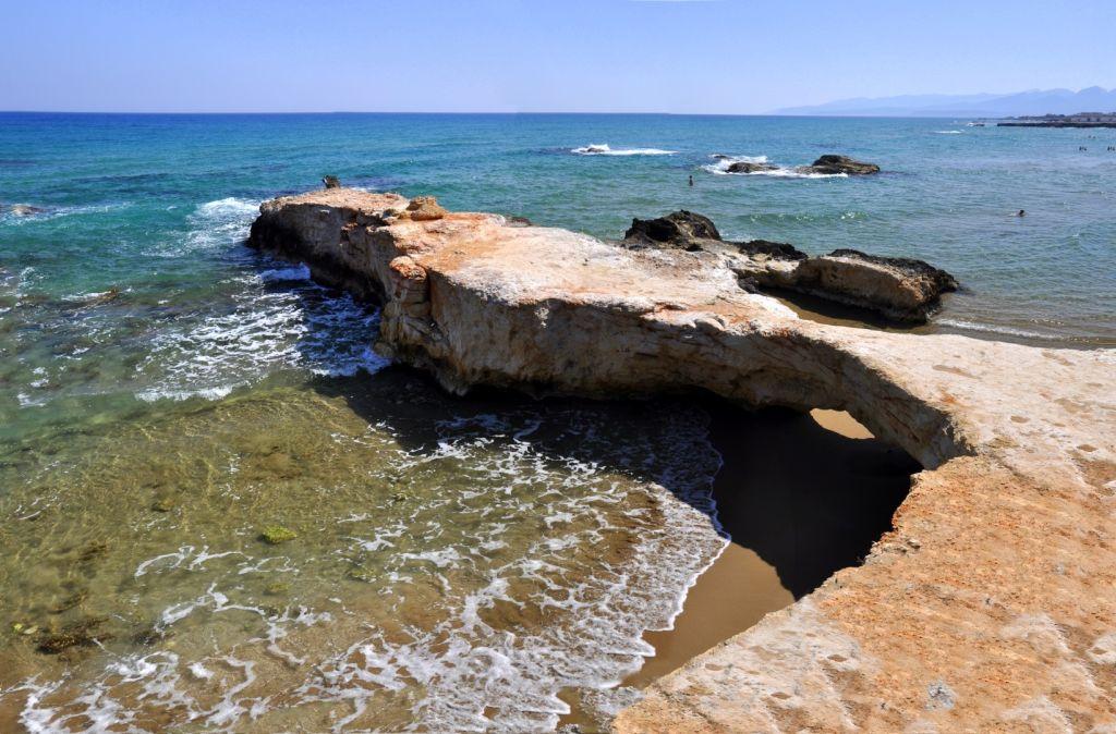 Strand von Hersonissos - Strände auf Kreta - weltvermessen.de