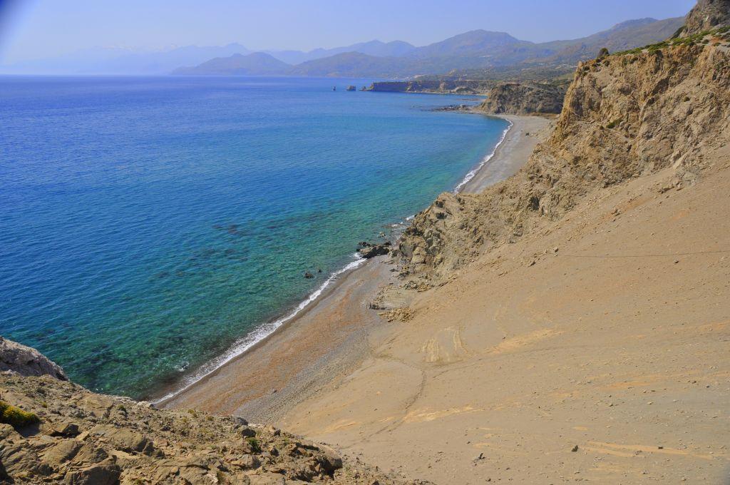Strand von Agios Pavlos - Strände auf Kreta - weltvermessen.de