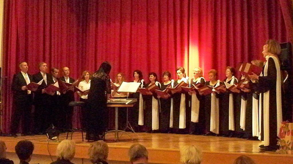 Der Chor Visanthi aus Thessaloniki