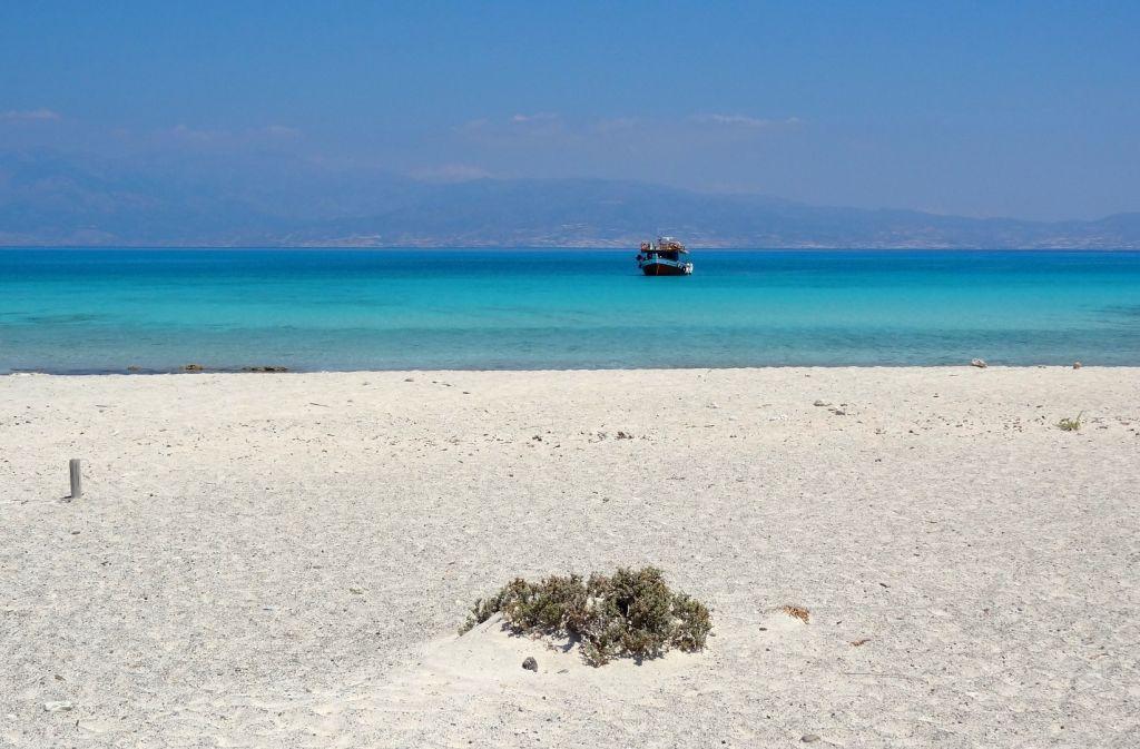 Strand auf Chrissi Island - Strände auf Kreta - weltvermessen.de