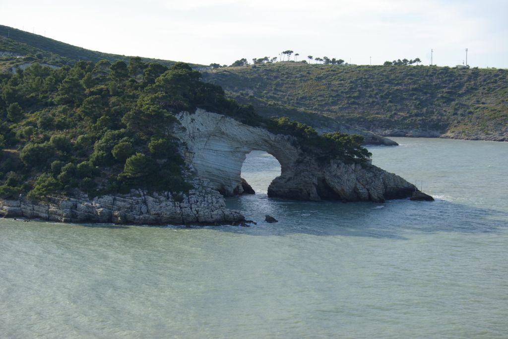 Küste zwischen Vieste und Mattinata