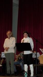 Klaus der Geiger und Ioanna Giannaki