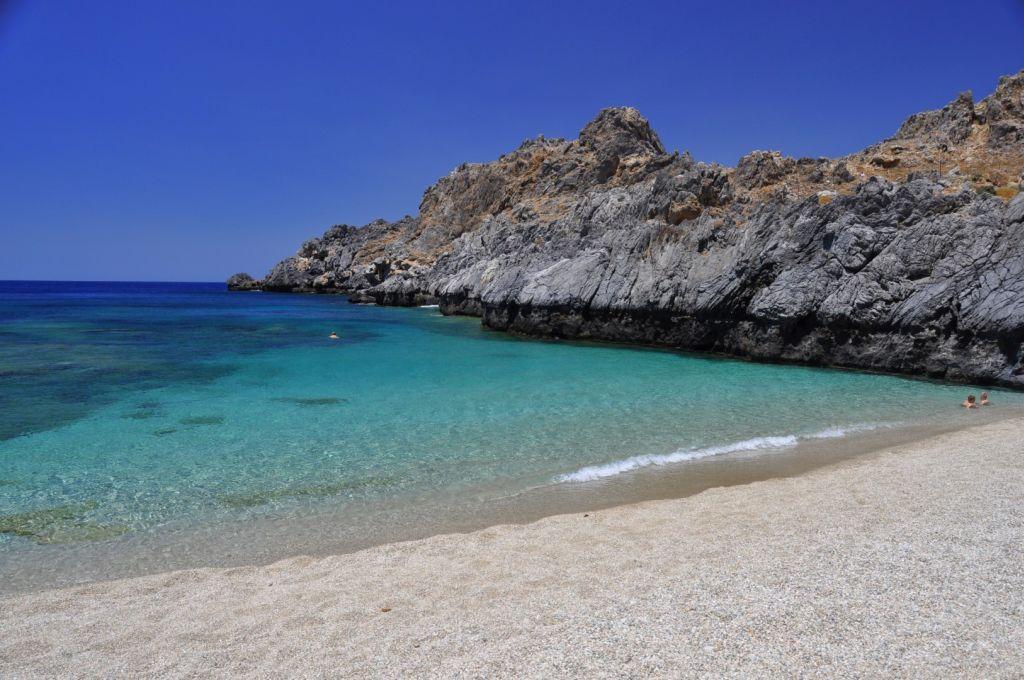 Strand von Shinaria - Strände auf Kreta - weltvermessen.de