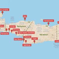 Fast alle Strände auf Kreta
