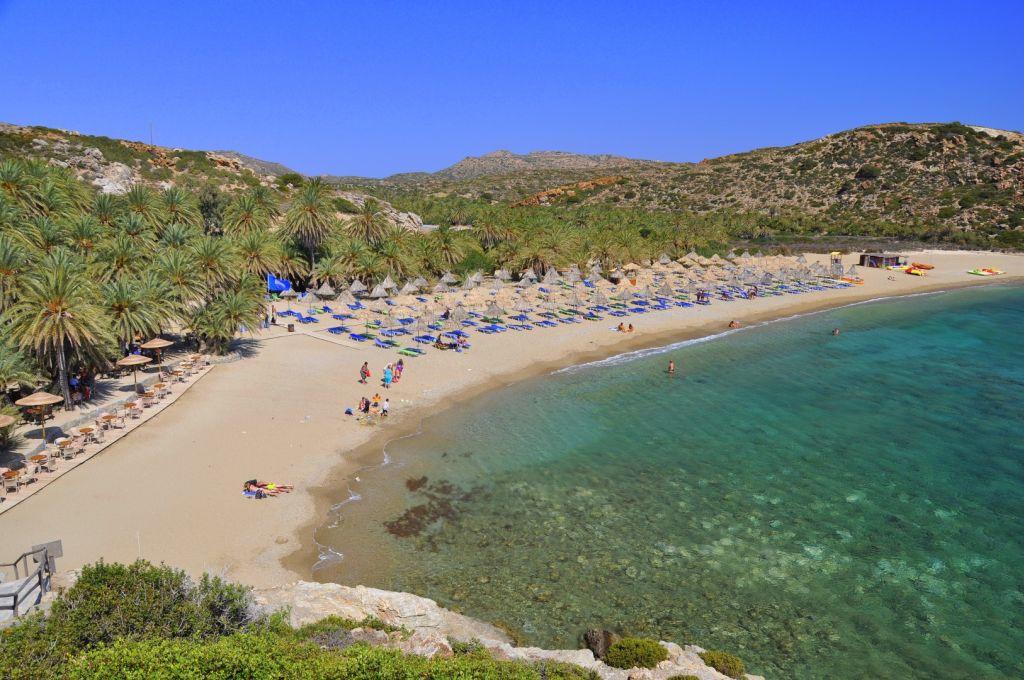 Strand von Vai Lassithi - Strände auf Kreta - weltvermessen.de
