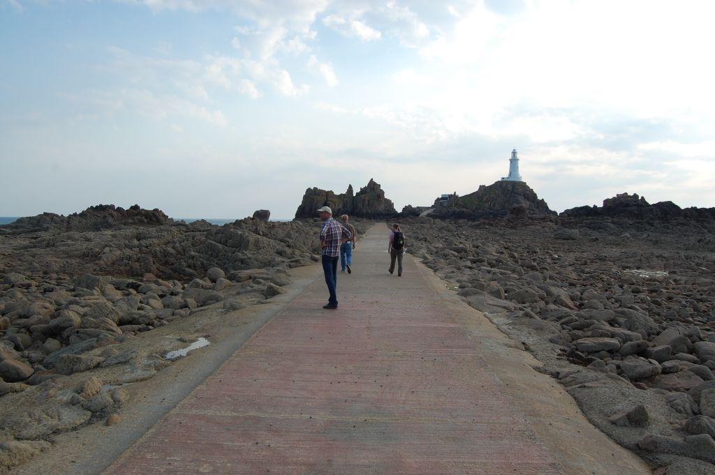 Leuchtturm La Corbière auf der Kanalinsel Herm (c) Johannes Frost