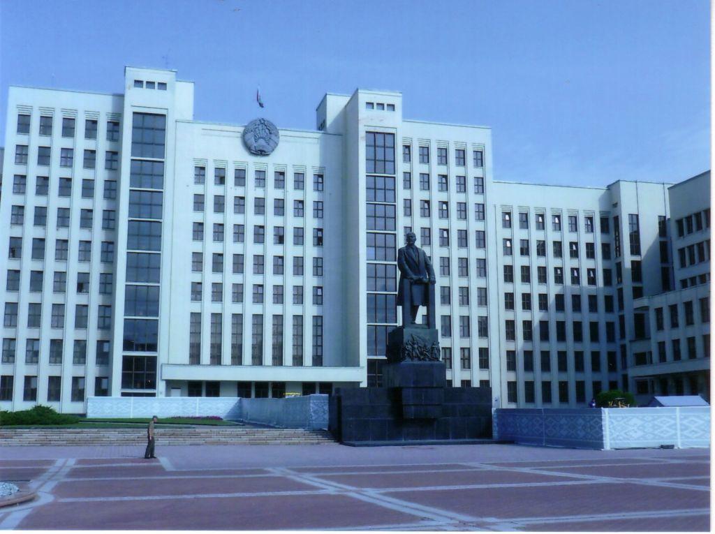 Regierungssitz Minsk Lukaschenko (c) Stefan Petzold)