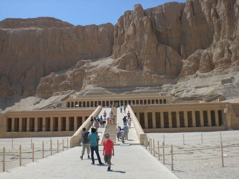Hatschepsut Tempel in Ägypten (c) Frank Lindemann