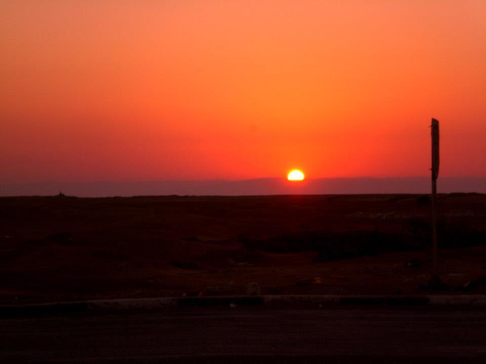 Sonnenuntergang in Ägypten (c) Frank Lindemann