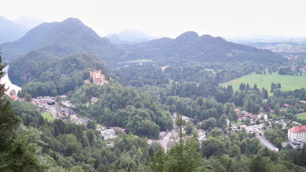 Blick aus dem Fenster vom Schloss Neuschwanstein (c) weltvermessen.de