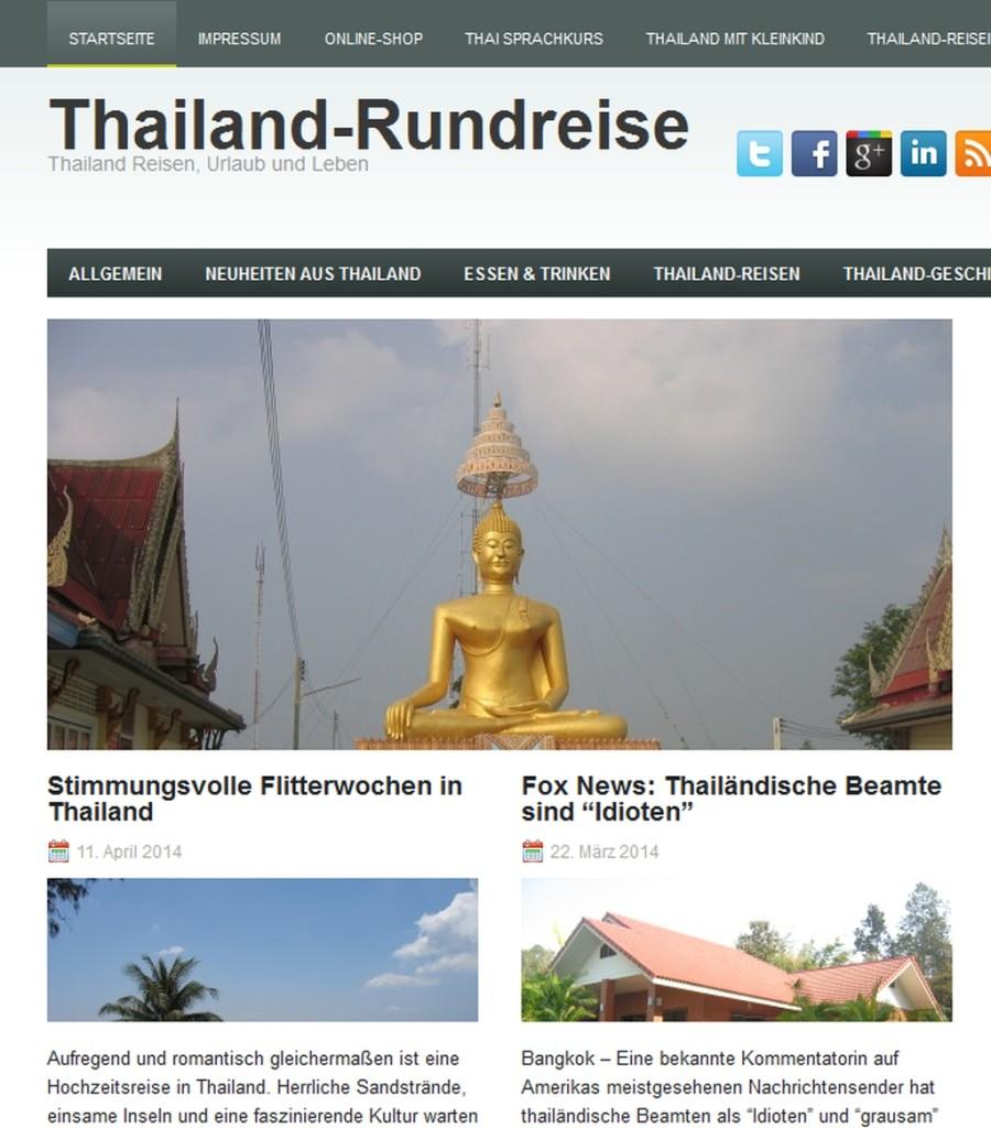 Screenshot Thailand Rundreise - Erlebe Thailand von der schönsten Seite_' - www_rundreise-thailand_info