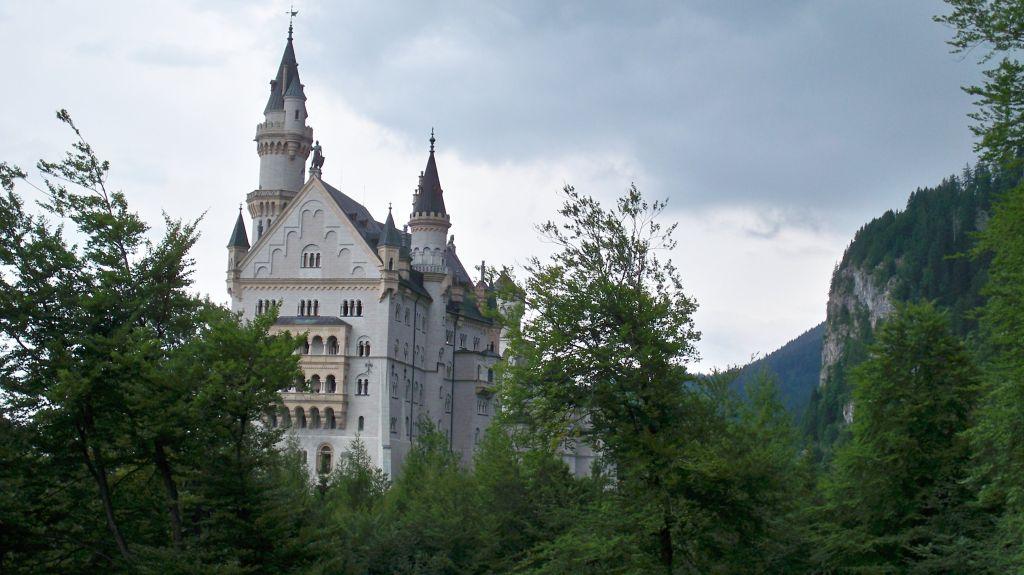 König Ludwig von Bayerns Schloss Neuschwanstein (c) weltvermessen.de