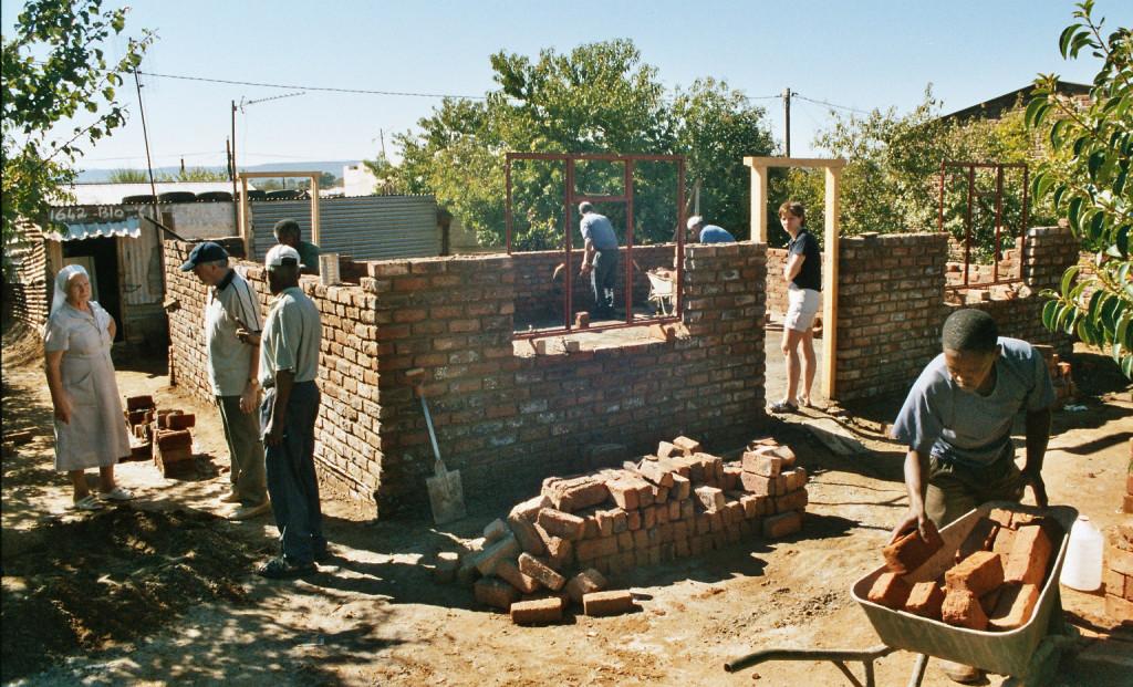 Housebuilding Projekt Afrika