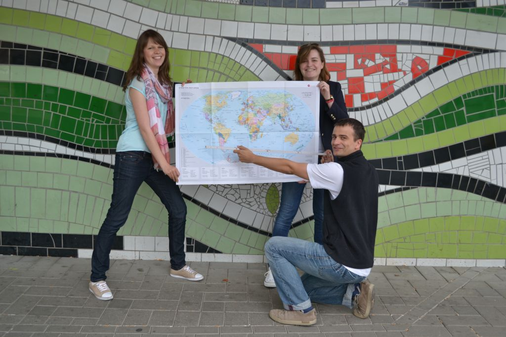 Gruppenfoto Weltvermessen.de