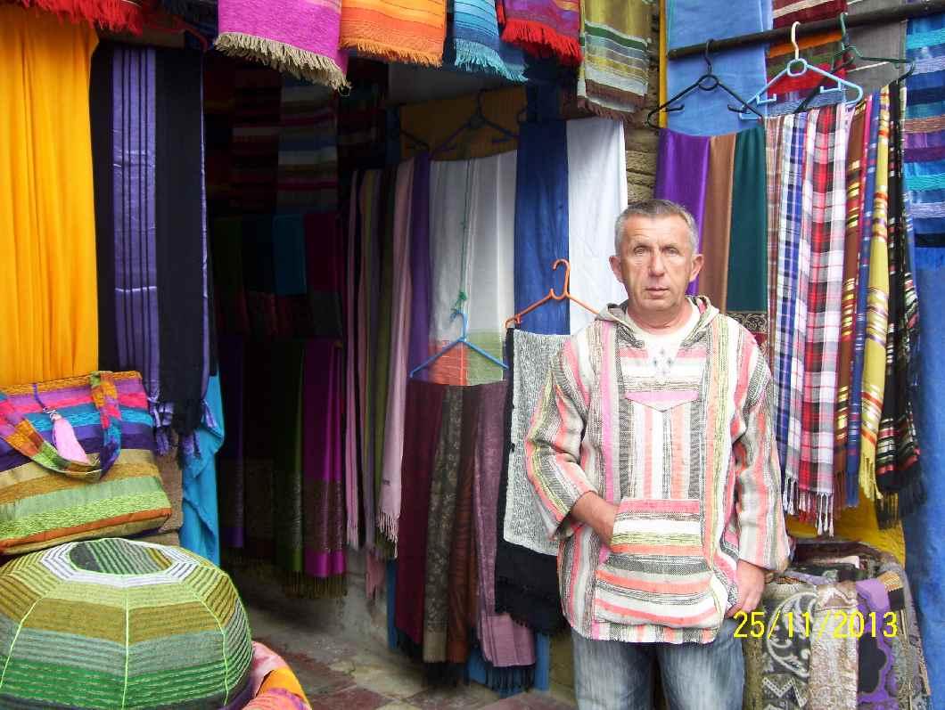 Didier Schmallong in seiner neuen Heimat Marokko (c) Didier Schmallong