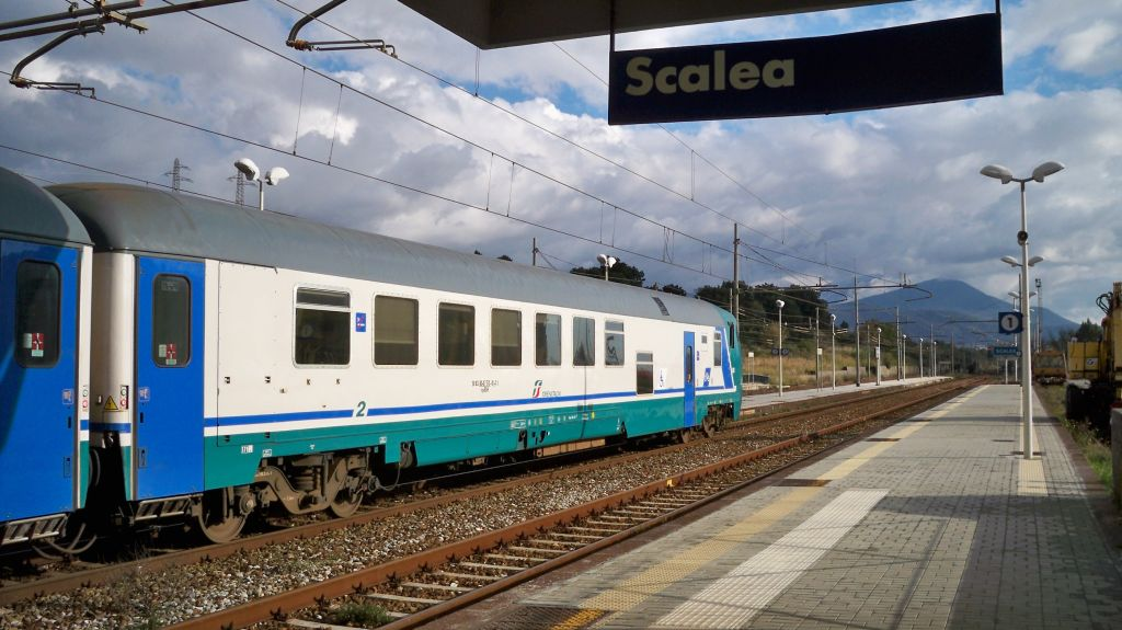 Bahnhof Scalea in Kalabrien -® weltvermessen.de
