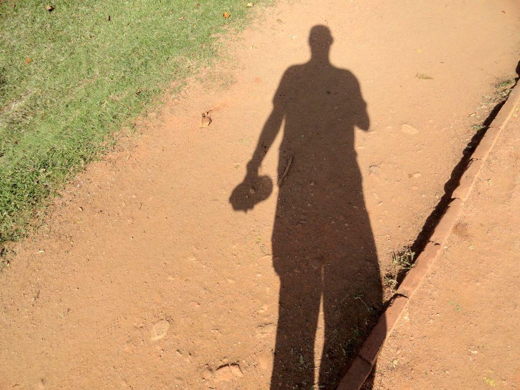 Schatten in der Sonne Sri Lankas