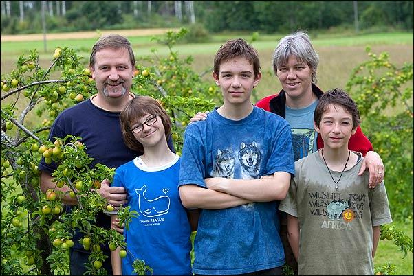 Familienbild der 5reicherts (c) Gaby Reichert