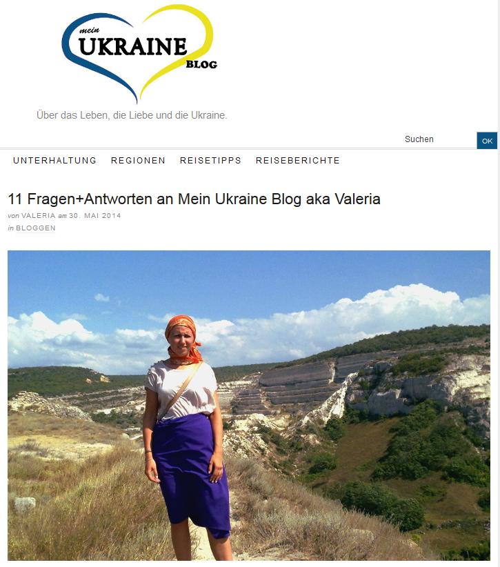 Screenshot von http://www.mein-ukraine-blog.de/2014/05/30/liebster-award-11-fragen-antworten/