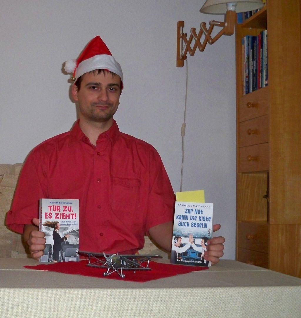 Buchrezension zweier Bücher übers Fliegen (c) Thilo Götze
