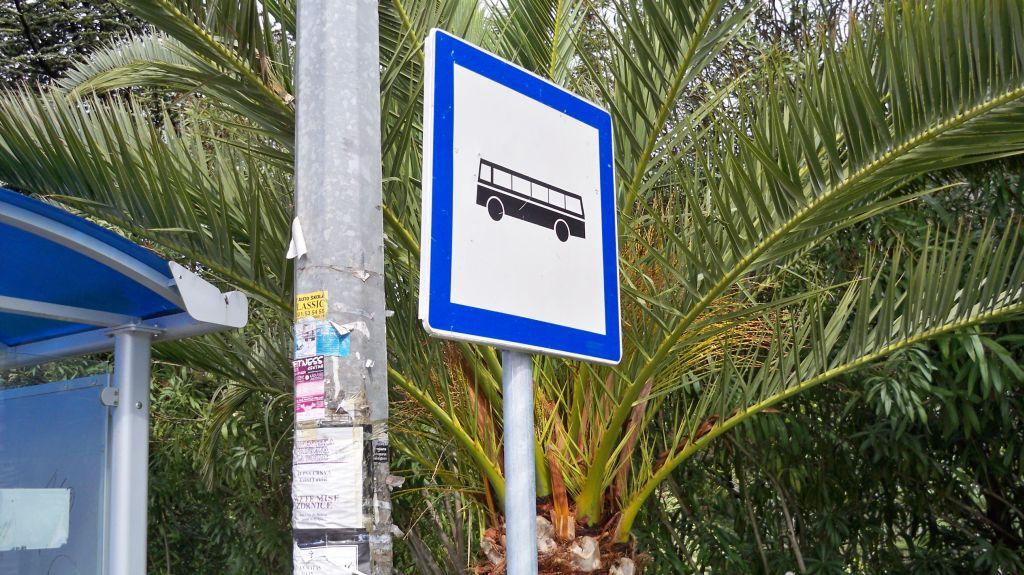 Bushaltestelle Trogir (c) weltvermessen.de