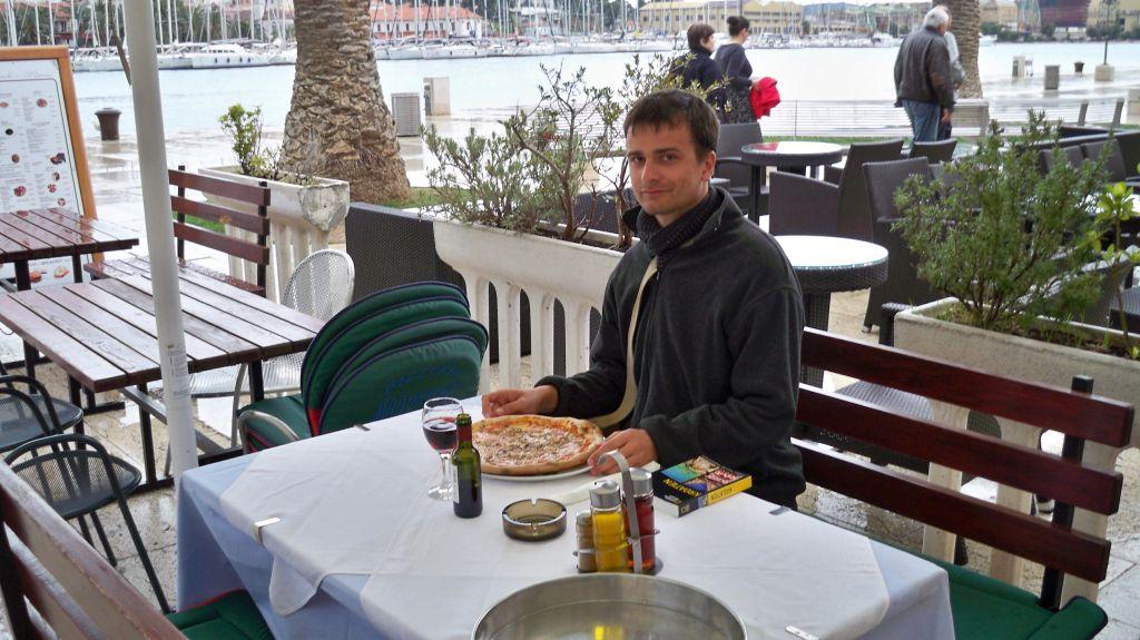 Restaurant in Trogir am Wasser (c) weltvermessen.de