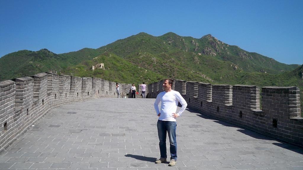 Chinesischer Mauertourist © 2015 Thilo Götze DDR