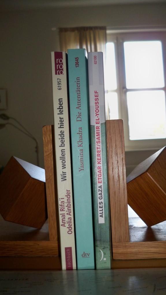 Bücher zum Nahostkonflikt © weltvermessen.de