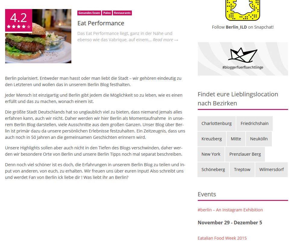 Screenshot von Berlin ILD