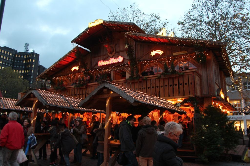 Der Dortmunder Weihnachtsmarkt (c) Maike Kranaster