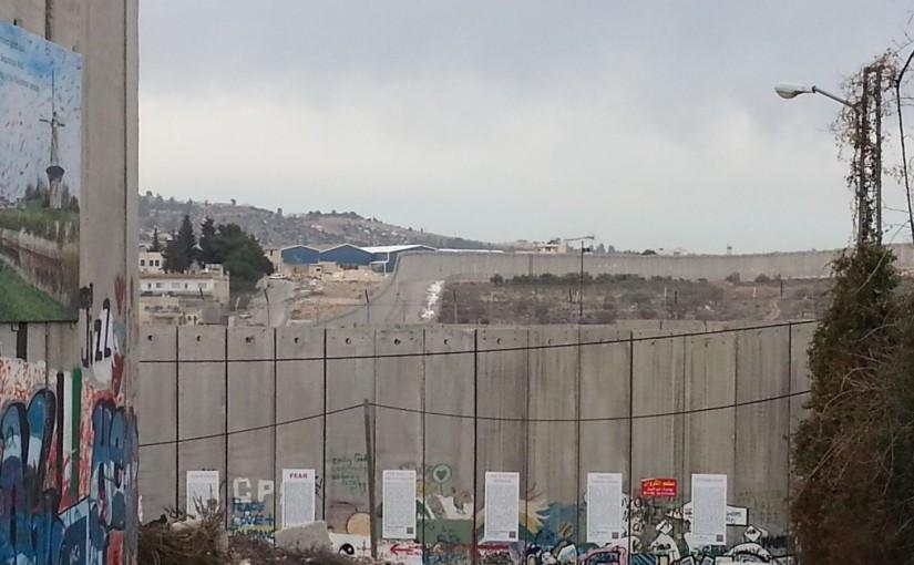 Mauer in Ramallah