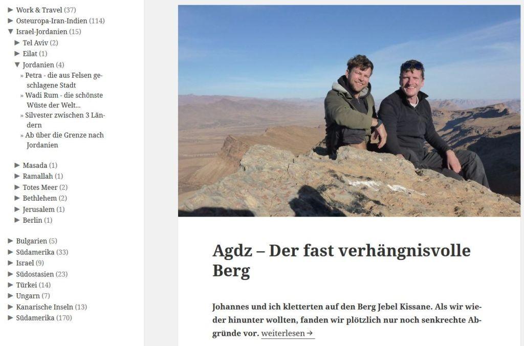 Screenshot zerinnerung.de