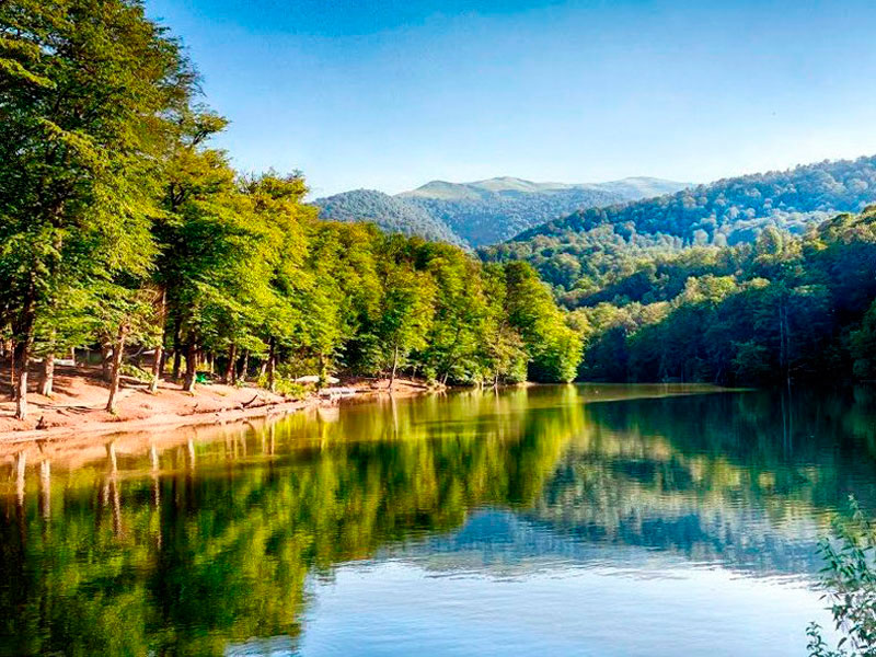 Resort Dilijan-Parz Lake in Armenien